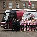 Nieuwe Sparta spelersbus gepresenteerd